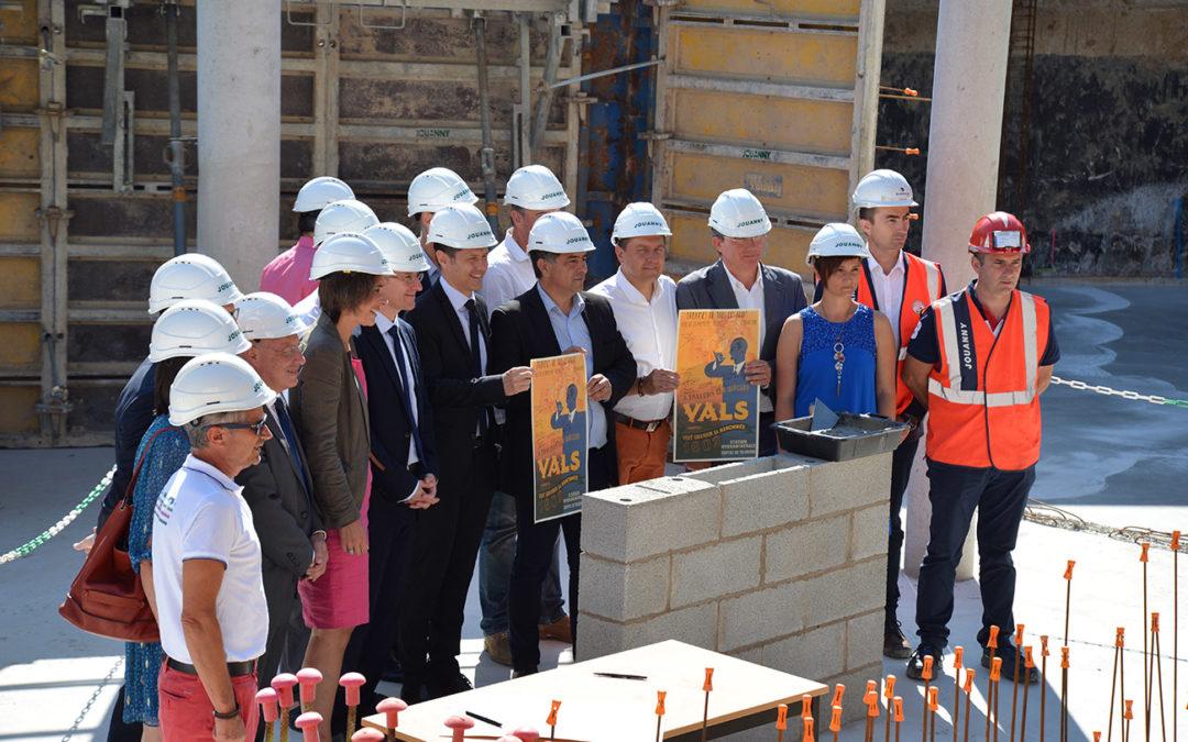 Lancement officiel des travaux d'extension et de rénovation des Thermes de Vals-les-Bains