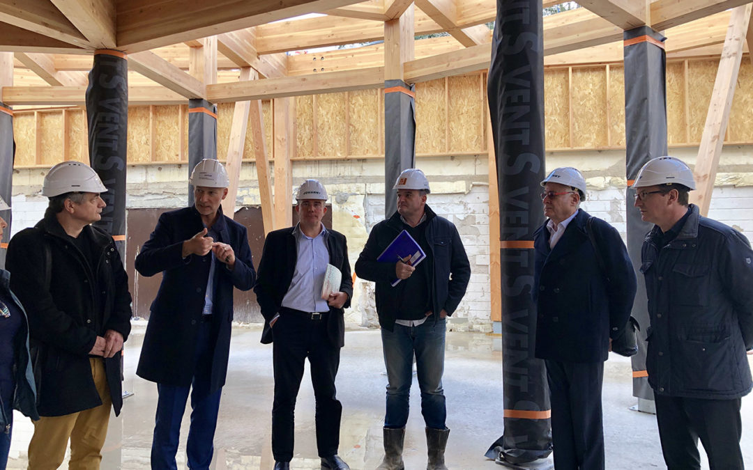 Point sur l'avancement du chantier des Thermes de Vals-les-Bains